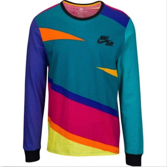 410a9b1c Nike Shirts | Oversized Future 90s Mens Retro Shirt | Poshmark
